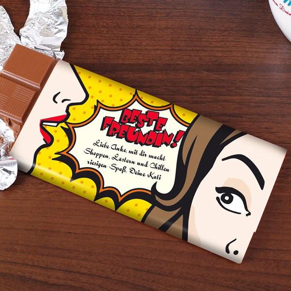 100g Schokolade für die beste Freundin