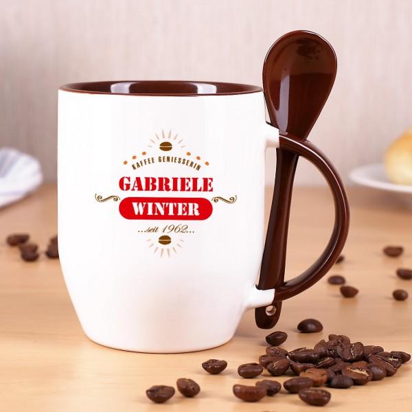 Kaffeetasse für Genießer