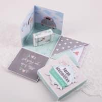 Überraschungsbox zur Hochzeit für Geldgeschenk, Gutscheine und Glückwünsche