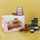 Glenfiddich mit bedrucktem Whiskyglas und 3 Lindorkugeln in Geschenkverpackung - Du bist nicht nur d