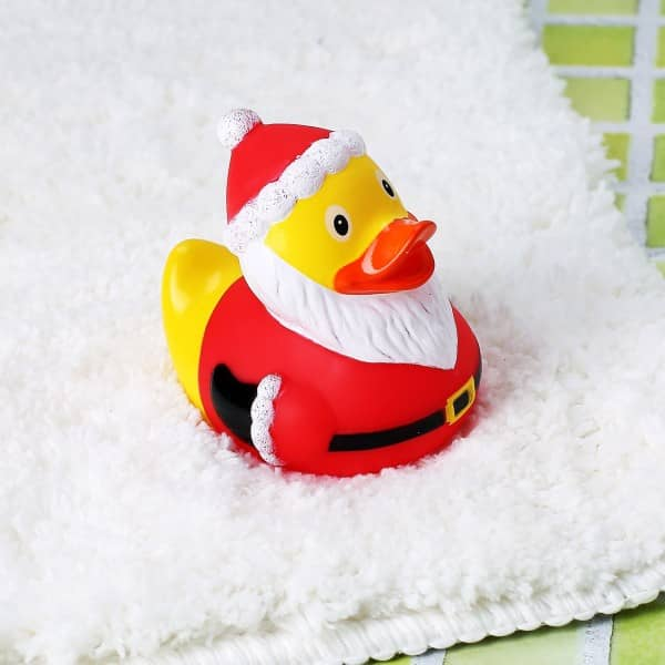 Quietscheentchen Weihnachtmann