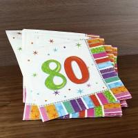 Servietten - zur Party - 80 - radiant