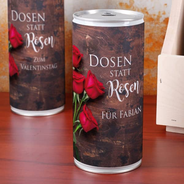 - 1 Liter Bierdose zum Valentinstag Dosen statt Rosen - Onlineshop Geschenke online.de