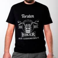 Biker - T-Shirt für Motorradfahrer aus Leidenschaft