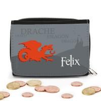 Geldbörse mit Drache