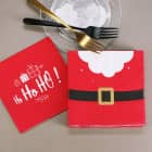 Weihnachtsservietten - Ho Ho Ho