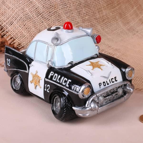 amerikanisches Polizeiauto