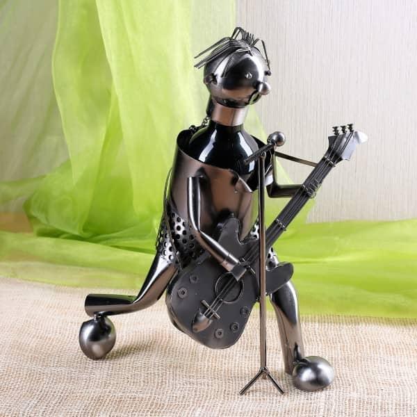 Flaschenhalter Gitarrist