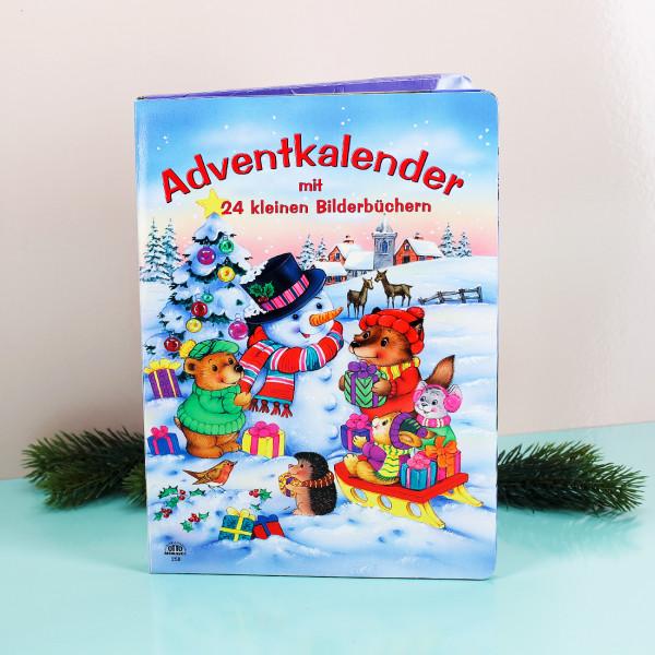 Adventskalender mit 24 Büchlein
