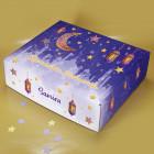 Kinder Ramadan Kalender mit Name - Laternen, Mond und Sternen Motiv zum selbst Befüllen