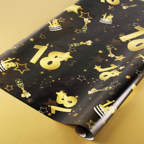 3 Meter Rolle Geschenkpapier