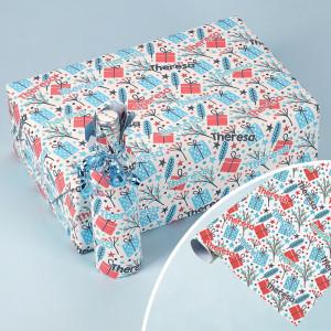 Personalisiertes Geschenkpapier für Weihnachtsgeschenke