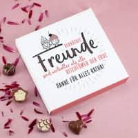 Geschenk für verrückte Freunde - Pralinen mit Wunschtext, 100g Lindt Mini-Pralinés