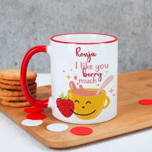 Tasse zum Valentinstag mit Name
