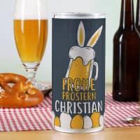 Frohe Prostern! - Bierdose zu Ostern mit Ihrem Wunschnamen