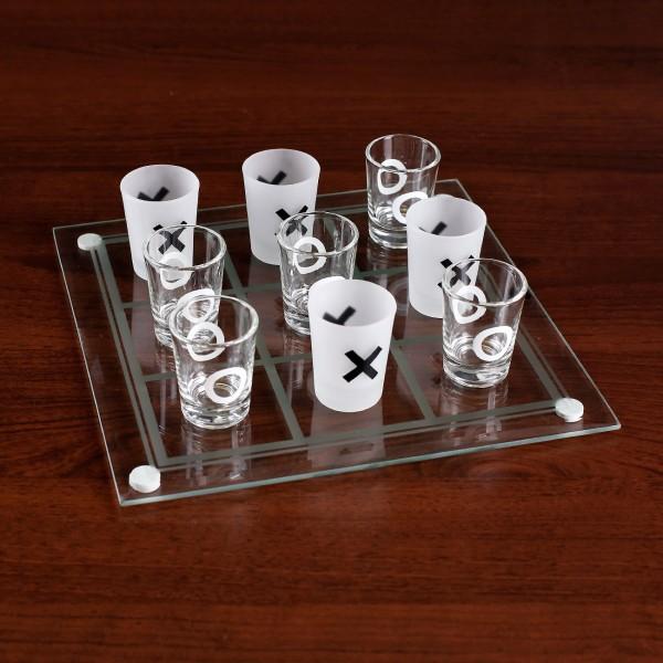 XXO Trinkspiel aus Glas