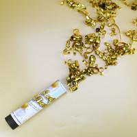 kleine Konfetti-Kanone - gold
