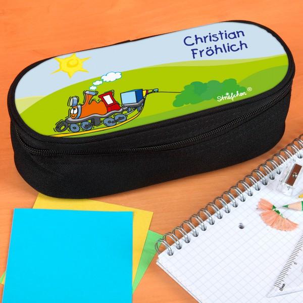 Stiftebox für Kinder mit Güterzug