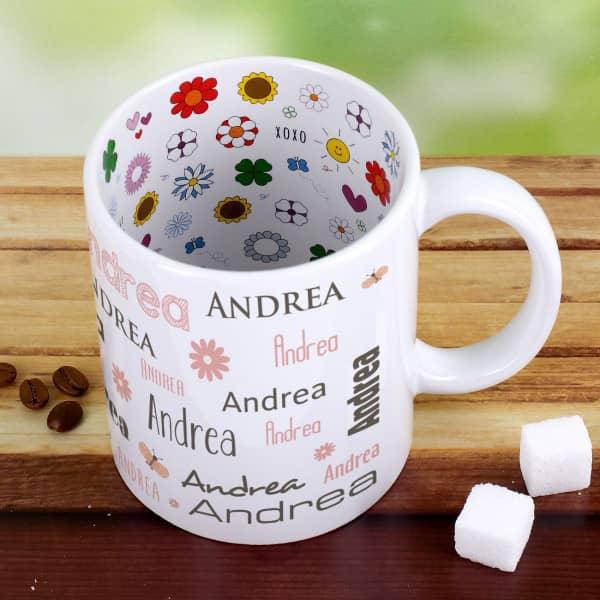- Namenstasse Best Mother in the World zum Muttertag - Onlineshop Geschenke online.de