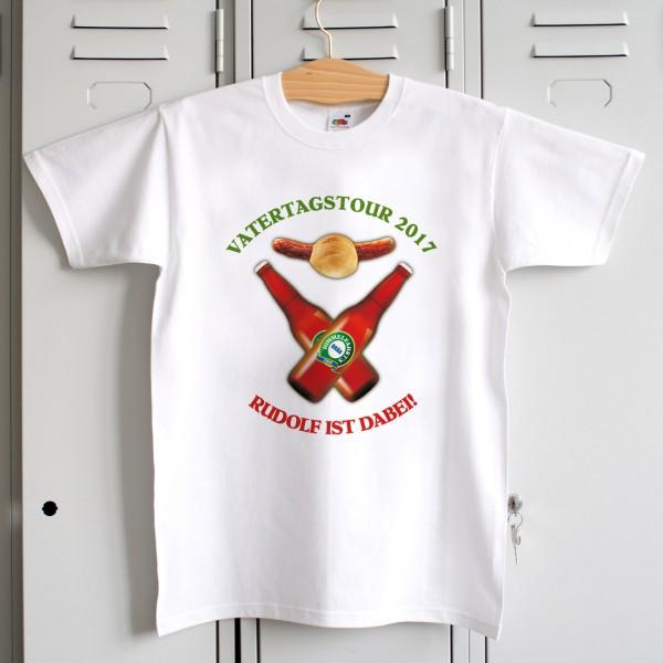 T Shirt zum Vatertag Ich bin dabei