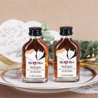 Mr & Mrs - 12er Set Schnaps zur Hochzeit