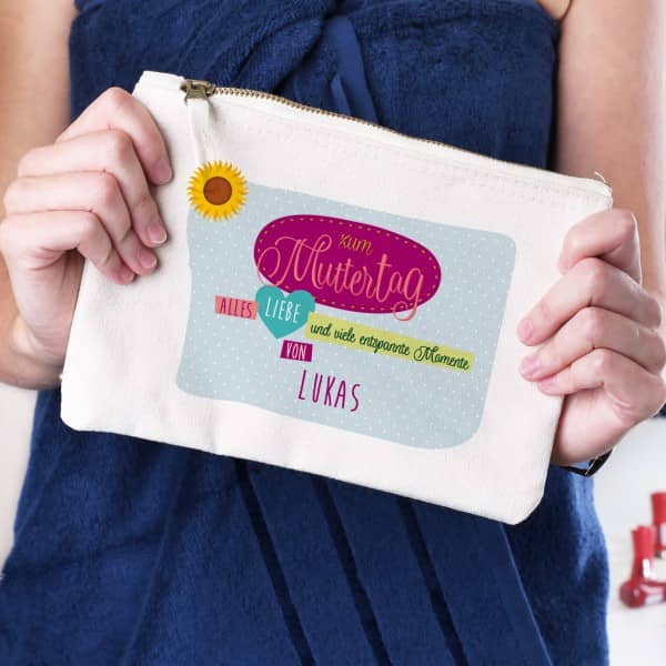 Kosmetiktaschen zum Muttertag - Alles Liebe -