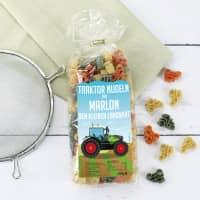Traktor Nudeln für kleine Landwirte mit Name