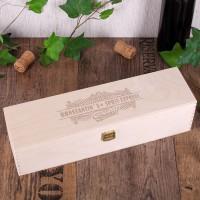 Holzbox -Sprit-Express- mit Wunschnamen