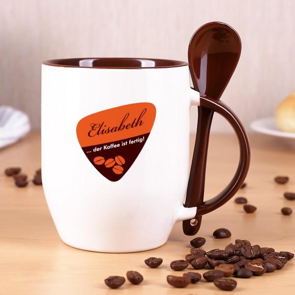 Kaffeetasse mit Vornamen