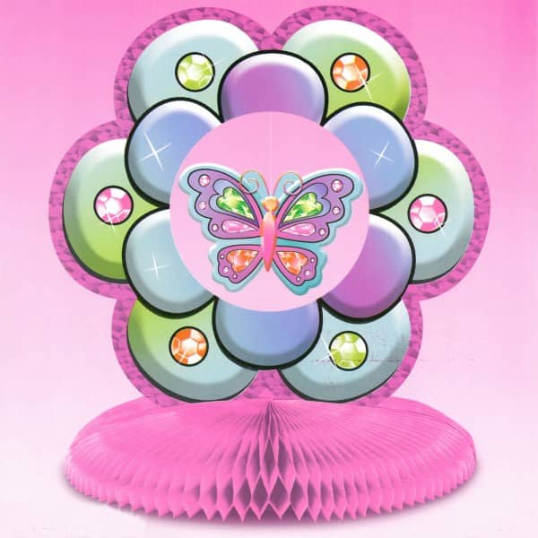 Tischdeko Schmetterling für Kindergeburtstag