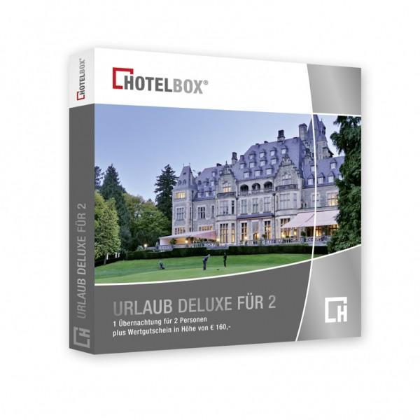 Urlaub Deluxe für 2 im Luxus- oder Schlosshotel