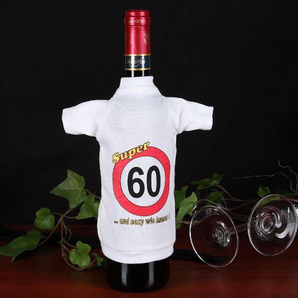 Flaschen T-Shirt Verkehrszeichen 60