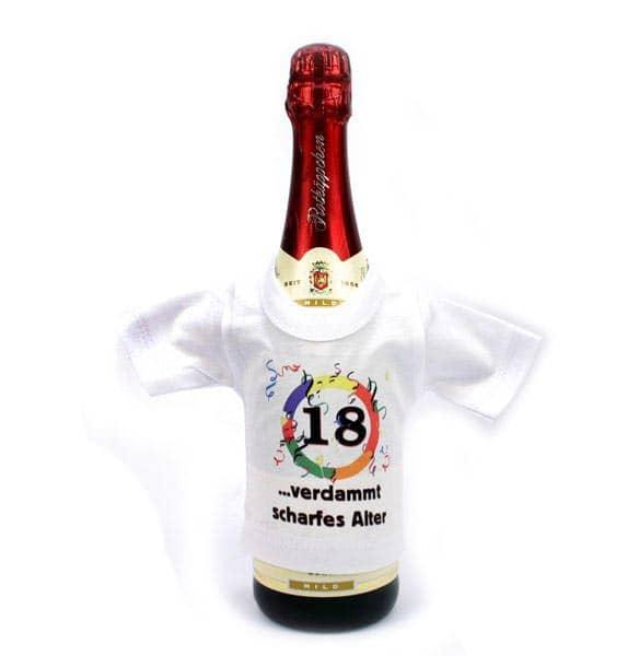 Mini T-Shirt für Flaschen