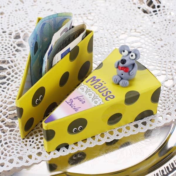 Mäuse für Dich - Geschenkschachtel