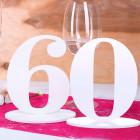 Tischnummer 60 für Geburtstag