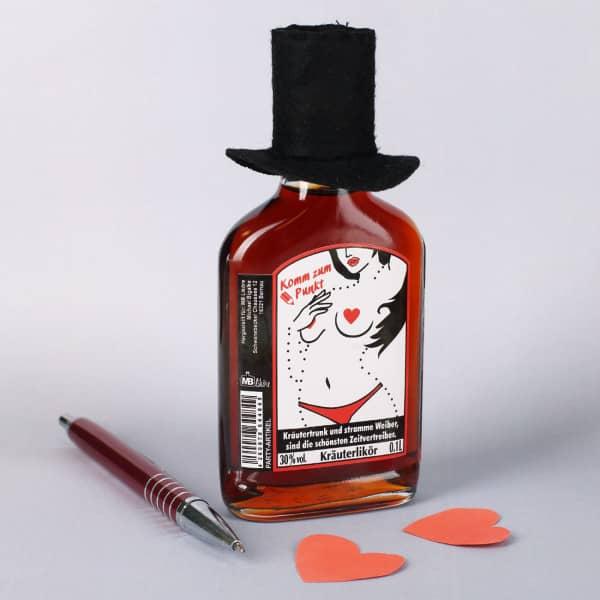 Kräutertrunk mit Hut - Malen nach Zahlen