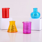 4er Set Shooter-Gläser Chemie