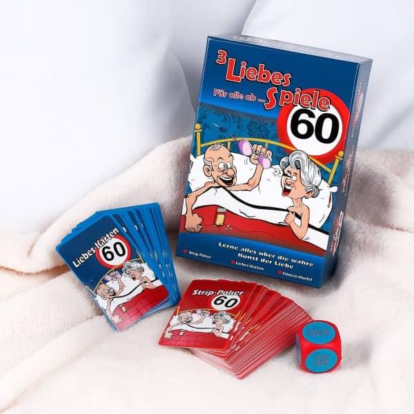 3 Liebesspiele für alle ab 60