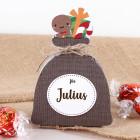 Weihnachtssäckchen mit Lindorkugeln und Ihrem Wunschnamen