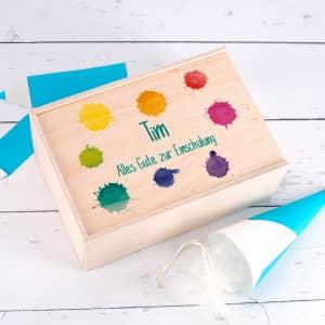 Verpackung für Kindergeschenke
