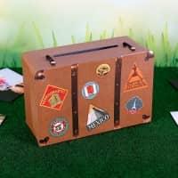 Kleiner Reisekoffer als Geldgeschenk oder Briefbox