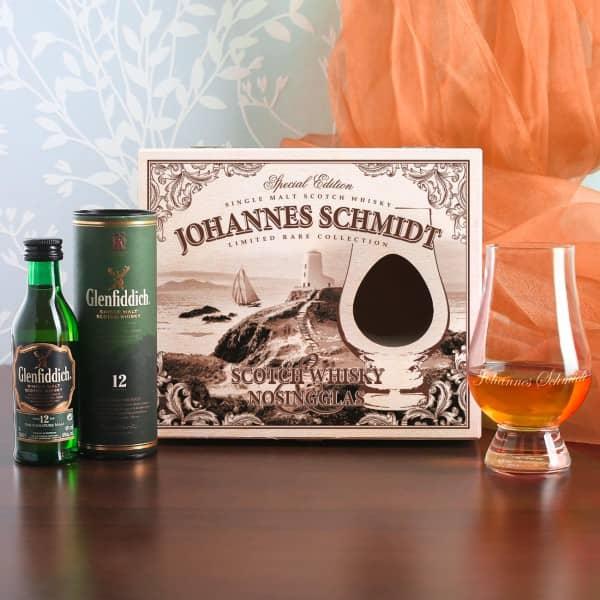 Whisky-Set mit Glenfiddich