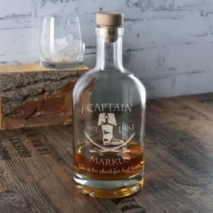 Whiskykaraffen mit Gravur