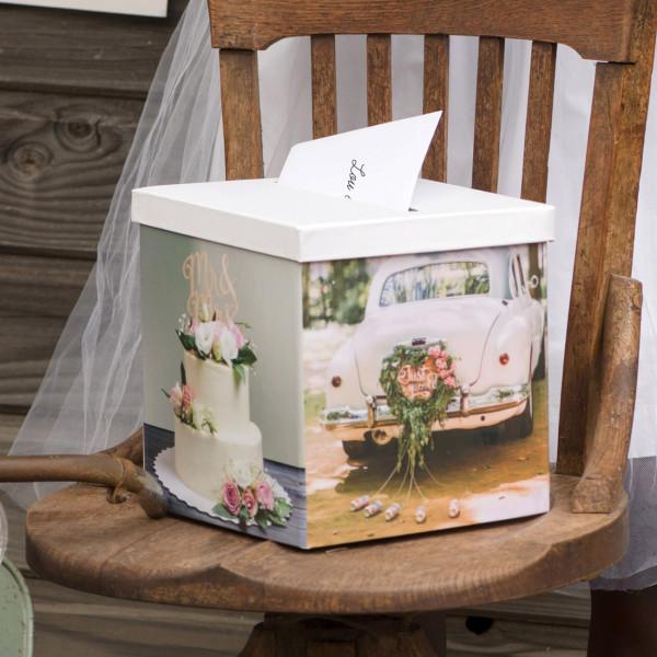 Kartenbox zur Hochzeit