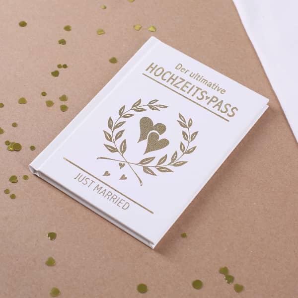 Der ultimative Hochzeits-Pass - Spaßbuch