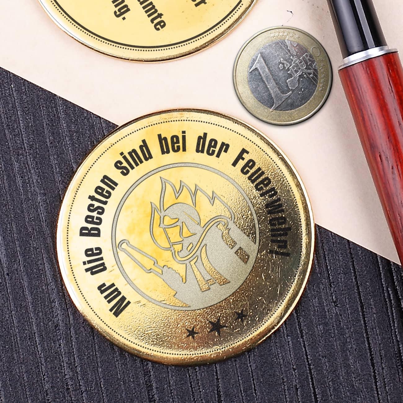 Auszeichnung In Form Einer Münze