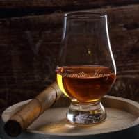 edel graviertes Glencairn Whiskyglas mit Wunschname