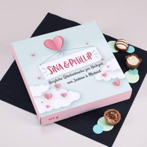 Lindt Pralinen personalisiert zum Valentinstag
