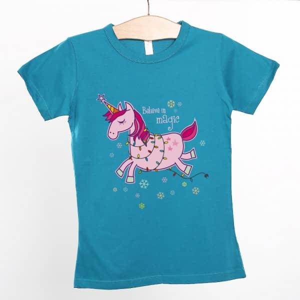 Einhorn T Shirt Believe in magic
