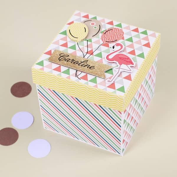 überraschungsbox Für Frauen Zum Geburtstag Explosionsbox